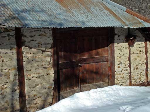 Porte de Grange Ancienne en Bois Bois D'une Ancienne Grange